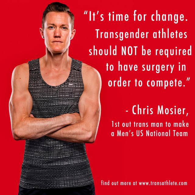 Κρις Μόζιερ: Ο πρώτος τρανς αθλητής των Ολυμπιακών Αγώνων 2016
