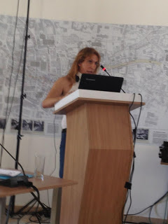 Marina Galanou Speaks now at the Lefkosia