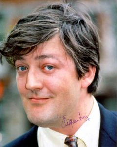 24 Αυγούστου: Stephen John Fry (b. 1957)