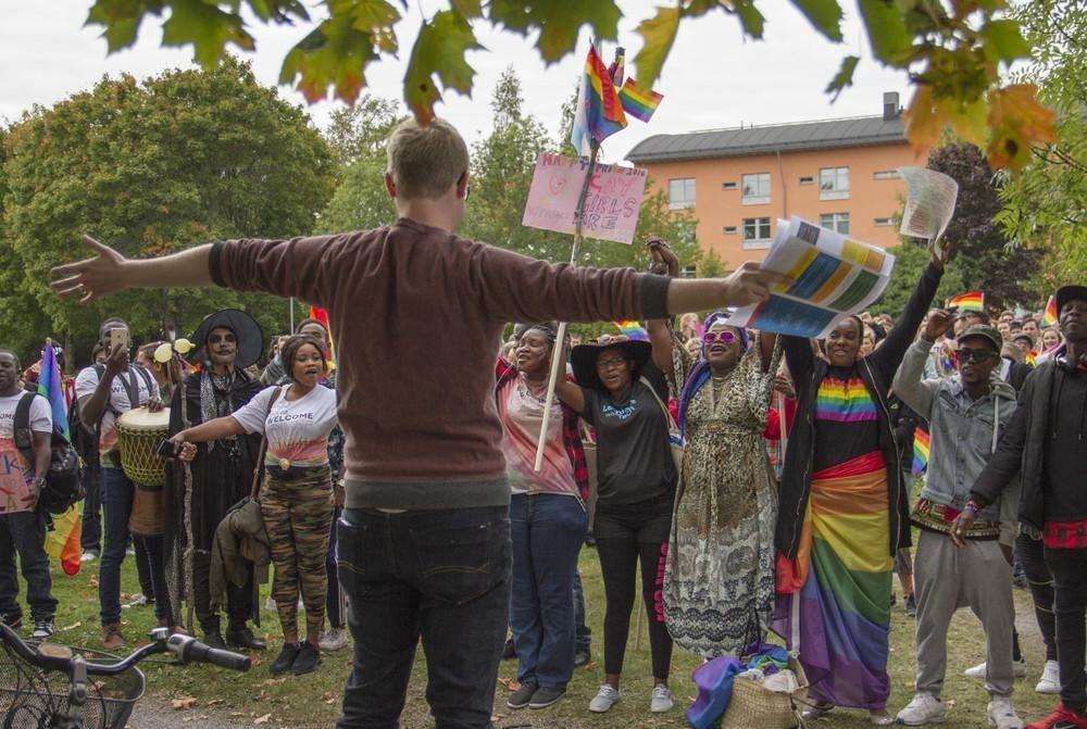 Το Πρώτο Pride για τα LGBTQ Άτομα που Ζητούν Άσυλο στη Σουηδία
