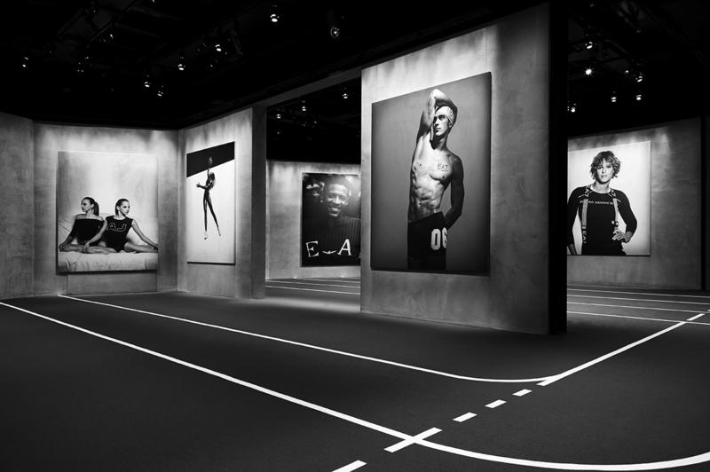 «Η φωτογραφία των Κλέλια και Άννυ Πανταζή έχει επιλεχθεί στην κεντρική έκθεση ανάμεσα σε αθλητές όπως η Serena Williams, o David Beckham, o David James και η Fiona May και φωτογράφους όπως οι Mert&Markous, Steven Κlein, Aldo Falai και David Sims».