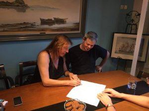 Εγγραφή συμφώνου συμβίωσης στο ληξιαρχείο.
