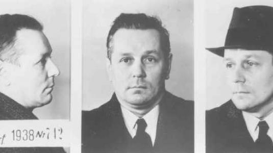 Ένας συγγραφέας από το Ντίσελντορφ που συνελήφθη για ομοφυλοφιλία. 1938.