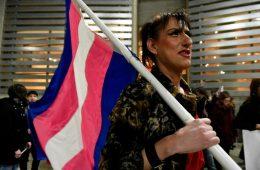 Η Βουβή Πορεία για την Ημέρα Τρανς Μνήμης στη Θεσσαλονίκη