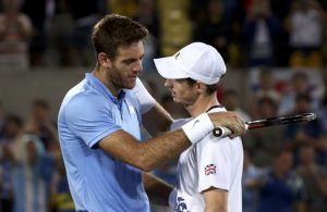 Tα δάκρυα του Μάρεϊ μετά από 4 ώρες συγκλονιστικού αγώνα με τον αργεντινό Ντελ Πότρο δεν ήταν πολύ «αντρικά» για σχολιαστή του BBC (Φωτογραφία: Reuters )