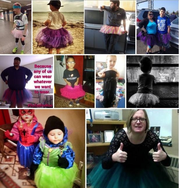 Μητέρα δέχτηκε λεκτική επίθεση επειδή αφήνει τον γιο της να φοράει φορέματα.