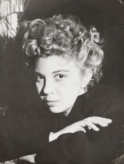 Leonor Fini, Paris, 1937, photography by Dora Maar