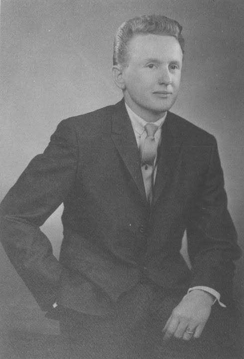 Studio portrait of Reed Erickson. 1962.