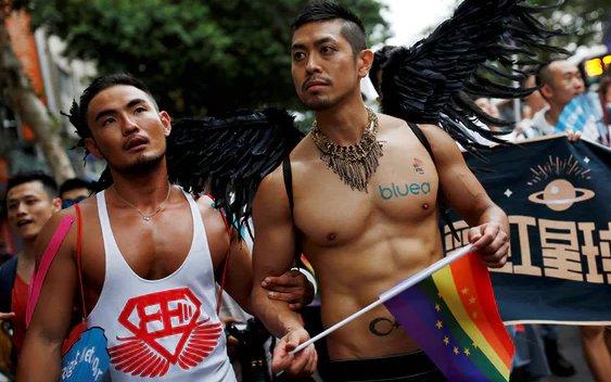 Δεκάδες χιλιάδες gay διαδήλωσαν στην Ταϊβάν - Για την ισότητα