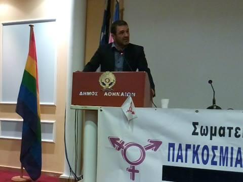 Ο π. Γενικός Γραμματέας Ανθρώπινων Δικαιωμάτων του Υπουργείου Δικαιοσύνης κ. Κ.Παπαϊωάννου. (Photo: Άννα Απέργη)