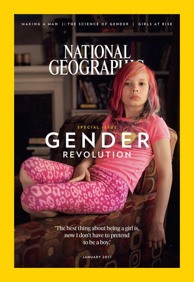 Ιστορικό τεύχος του National Geographic - 9χρονο τρανς κορίτσι στο εξώφυλλο