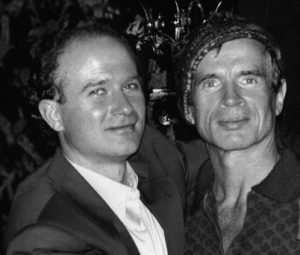 O Michel Canesi με τον Ρούντολφ Νουρέγιεφ