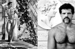 γυμνό αρσενικό και θηλυκό μοντέλα